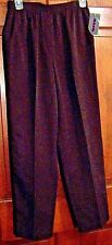 NEW WITH TAG WOMENS DARK BROWN PANTS SIZE 8 MISSY SHORT BY ALIA