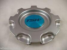TSW Wheels Silver Custom Wheel Center Caps # CT14301HB (1 CAP)