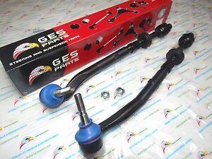 Fit BMW E39 525i 528i 530 2 Inner & Outer Tie Rod Ends Assy ES80953 / EV800292