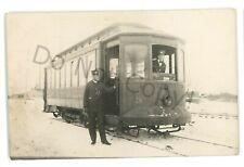 RPPC FARGO & Moorhead Street Railway Trolley FARGO ND Real Photo Postcard