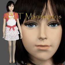 Child fiberglass hand made mannequin,  Abt 6 years old boy/ girl manikin- Trey