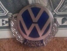 Vintage VW Volkswagen 100000 k miles Logo Lapel or Hat Pin Tie Tack