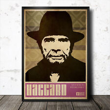Merle Haggard Country Music Art Poster Willie Nelson Hank Williams Johnny Cash