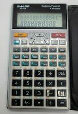 Sharp Calculator El-738 Business Financial Calculator