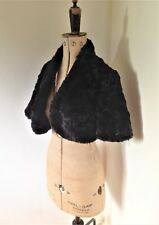 Ladies Black Coast Faux Fur Bolero Shrug Jacket UK S