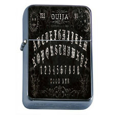 OUIJA BOARD D7 Flask 8oz Stainless Steel Talking Spirit Occult Witchcraft Spooky