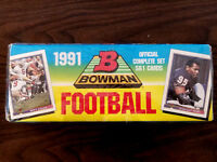 1991 Bowman Football SEALED Complete Set of 561 Trading Cards - NFL New in Box