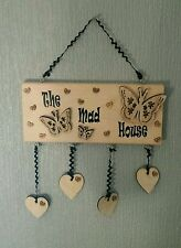 Unbranded Wooden Family Names Decorative Plaques & Signs