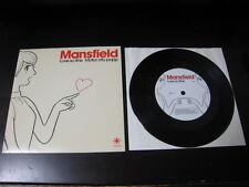 Mansfield Love So Fine Japan Vinyl Single Roger Nichols Asako Toki Hideki Kaji 7