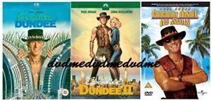 Crocodile Dundee 1 2 3 DVD Paul Hogan New Sealed Australian Release