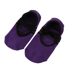 Yoga y Pilates Antideslizante Calcetines con apretones para mujer Algodón Corte