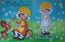 "1978 10"" Daisy Paperdoll w/24 Fashions Whitman 59©"
