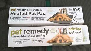 Pet Remedy Heat Pad & Padded Fleece Cover Cat / Dog / Rabbit / Furries