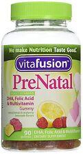 Vitafusion PreNatal Gummy Vitamins w/ DHA & FA 90ct
