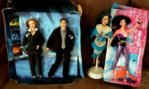 BARBIE DOLL 1998 THE X FILES GIFTSET, Kira and Native American Loose Dolls