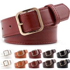 Women PU Leather Belts Waistband Ladies For Jeans Causal Waist Belt Adjustable