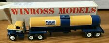 Winross White Vulcan Chemicals Tractor/Tanker Trailer 1/64