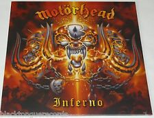 Motorhead Inferno LP Double Vinyl 12 Track - New Official