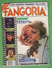 #LL. FANGORIA HORROR MOVIE  MAKEUP MAGAZINE #20, JULY 1982