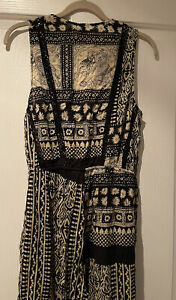 Zimmerman Size 1 Or Small Jumpsuit Lace Inserts Boho Print