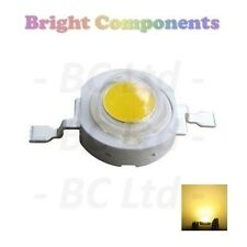 5 x 3W Yellow Power LED - Ultra Bright - 5 Pack - 1st CLASS POST