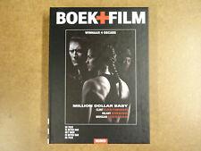 DVD + BOEK / MILLION DOLLAR BABY ( CLINT EASTWOOD, HILARY SWANK, MORGAN FREEMAN)