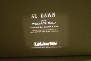 1914 At Dawn 8 MM B & W Silent Film *Wallace Reid*