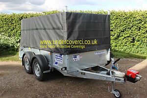HAND MADE TRAILER COVER FOR HIGH SIDED  IFOR WILLIAMS GD85M 2005-DATE