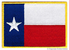 TEXAS STATE FLAG embroidered iron-on PATCH TX LONE STAR new APPLIQUE EMBLEM