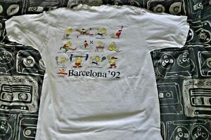 Vintage VTG 1988 Barcelona 92' Olympic US Training Center shirt mens size Large