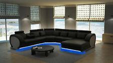 Corner Sofa Interior Design Couch Leather Set Vigo-K u Shape New