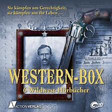 XXL Hörbuch Paket WESTERN-BOX | 6 Hörbücher | 18 Stunden I mp3-DVD