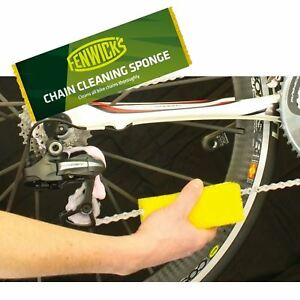 Fenwicks Bike Chain Cleaning Sponge - MTB, Bicycle, Cycle Cleaner
