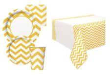 Art de la table de fête nappe jaune pour la maison toutes occasions