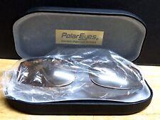 New Polar Eyes Premium Polarized Sunwear Hard Case & Glasses