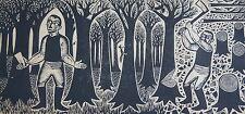OLYFF MICHEL bois illust. Notes de Zoologie de Lewis Carrol, dimensions de la f