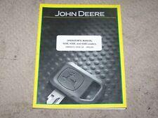 John Deere Used H340 H360 & H380 Loader Operators Manual B18