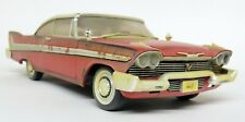 Autoworld 1/18 Scale 1958 EVIL Plymouth Fury Christine With Lights Model Car