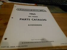 1965 Johnson Sea Horse Accessories Outboard Parts Catalog # 380638