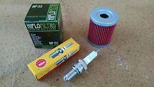 Tune up Kit Suzuki Quadsport LTZ250 LTZ 250 Oil Filter Spark Plug 2004 2005-2009