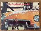MG MGB Sports Car Sales Brochure 1973 #2961/A