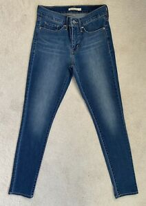Women's Ladies Levis 311 Shaping Skinny Stretch Jeans W27 L32 (D195)