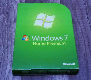 Microsoft Windows 7 Home Premium GENUINE pre-owned GFC-00019