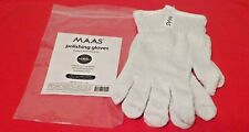 Maas Metal Polish Polishing Gloves 1 Pair Reusable Anti Tarnish Treated New