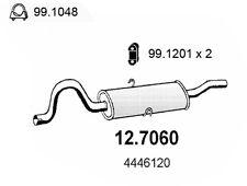 MARMITTA TERMINALE FIAT 132 2.0 INIEZIONE 4446120