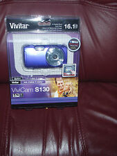 Vivitar ViviCam S130 16.1MP Digital Camera - Red