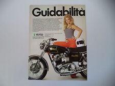 advertising Pubblicità 1972 MOTO NORTON COMMANDO 750