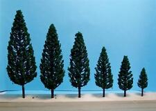 Multi Scale-Model Scenery-Authentic Dark Green Pine Trees-16 Piece Set-5 Sizes