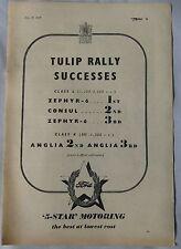 1955 Ford Tulip Rally Successes Original advert