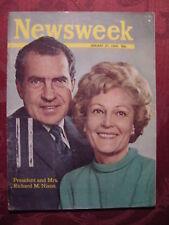 NEWSWEEK magazine January 27 1969 THE NIXON ERA BEGINS